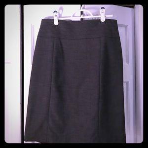 NWT H&M grey pencil skirt